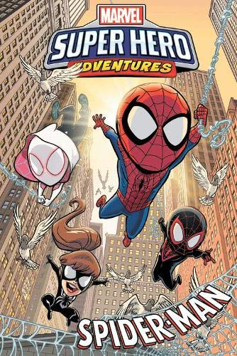 Compare Textbook Prices for Marvel Super Hero Adventures: Spider-Man Illustrated Edition ISBN 9781302917326 by Fisch, Sholly
