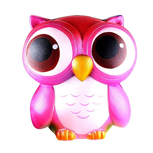 Why Should You Buy Pink Cute owl 15 cm Decompression Toy Slowly Rising Slow Rebound PU Toy