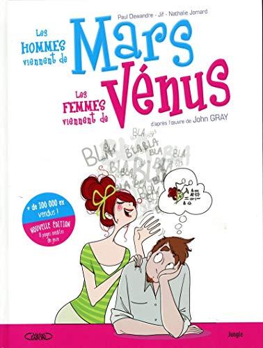 La BD Les hommes viennent de Mars, les femmes viennent de Vénus