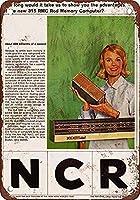 ヴィンテージルック再現インチ、1964 NCR 15 RMCロッドメモリア壁サインメタルプラークポスター鉄絵警告サインアート装飾用バーホテルオフィスカフェテリア