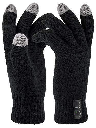 Gants thermiques avec fonction écran tactile Extra-chauds TOG 1,9, noir, L/XL