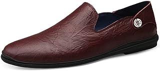 [イグル] ローファー スリッポン ビジネスシューズ メンズ 春夏 軽量 抗菌 トレンド 履き心地良い おしゃれ オフィス 痛くない 屈曲性 気持ちいい 通気性 疲れにくい ドライビングシューズ 革靴 就活 モカシン 日常着用