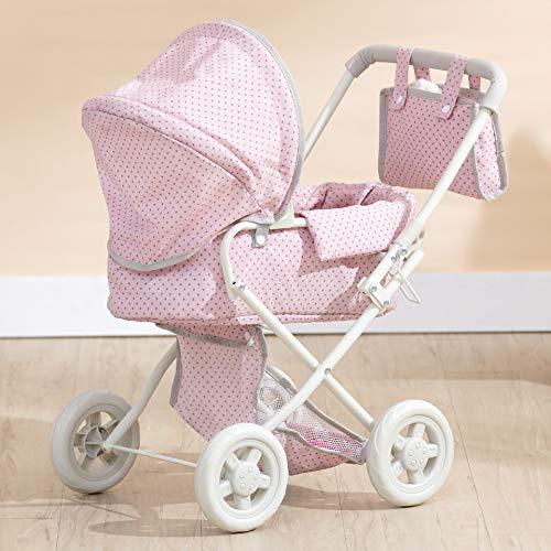 Puppenwagen Babypuppenwagen Kinderwagen Puppenzubehör Olivia's World OL-00003