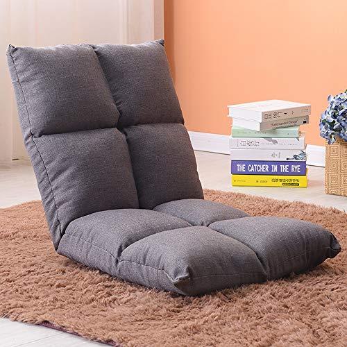 AiHerb.LO JL HX Chaise De Style Japonais Paresseux Canapé Tatami Pliable Simple Petit Canapé-lit Chaise D'ordinateur Dortoir Baie Vitrée A+ (Couleur : D)