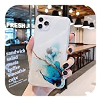 HUJEA Compatible for iPhone 12 11 Pro Max XR XS Max 7 8 Plus XSEフルボディソフトIMDクリアバックカバーCoque用のヴィンテージカラフルな電話ケース-5-Compatible for iPhone SE 2020