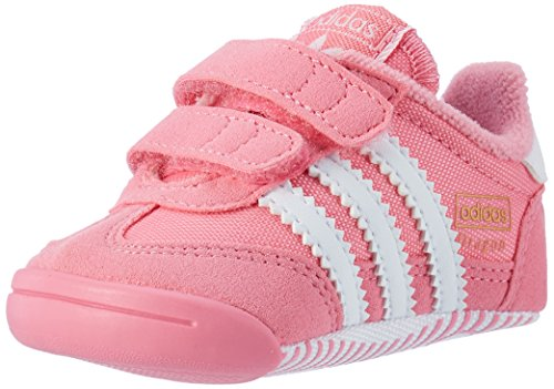 adidas Unisex-Kinder Dragon L2W Crib Sneaker, Pink (Easy Pink/FTWR White/Easy Pink), 16 EU