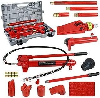 SUPER DEAL Red Porta Power Hydraulic Jack Body 10 Ton Frame Repair Kit Auto Shop Tool
