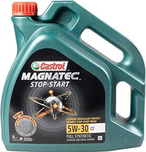 Castrol 159BAD Olio Castrol Magnatec Stop & Start 5w-30 C2 Q3 4l Lubrificante auto