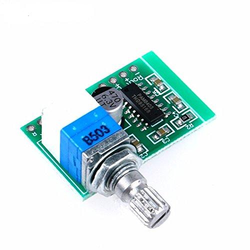 Robodo PAM8403D Mini 5V 2 Channel USB Power Audio Amplifier Board Volume  Control HC