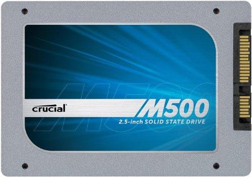 Crucial CT960M500SSD1 interne SSD 960GB (6,4 cm (2,5 Zoll) 1024MB Cache, SATA III)