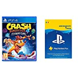 ACTIVISION Crash Bandicoot 4 It's About Time PlayStation 4 & Sony PlayStation Plus Abbonamento 1 Mese   Codice download per PSN Account italiano