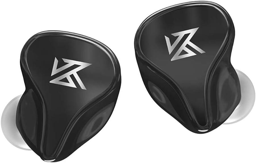 KZ Z1Pro True Wireless Bluetooth 5.2 Headphones, HiFi Stereo IPX6 Waterproof TWS in-Ear Earphones Headsets w/Mic for Sports/Workout/Game/Music