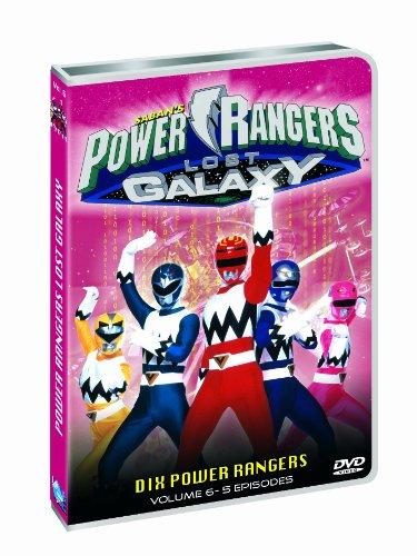 power rangers lost galaxy on dvd - 8