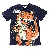Camiseta Estampada Dinosaurio para bebé niños, Camiseta Manga Corto...