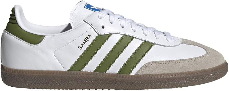 Adidas Samba OG Weiß Grün Grün braun  bester Ruf