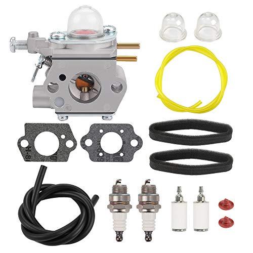 Savior 75306190 Carburetor Fuel Line for WT973 WT-973 Troy Bilt TB22EC TB2040XP Bolens BL110 BL160 BL425 Craftsman Trimmer 753-06190