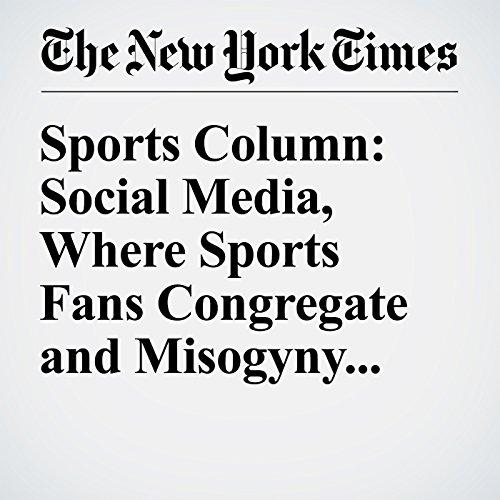 Sports Column: Social Media, Where Sports Fans Congregate and Misogyny Runs Amok audiobook cover art