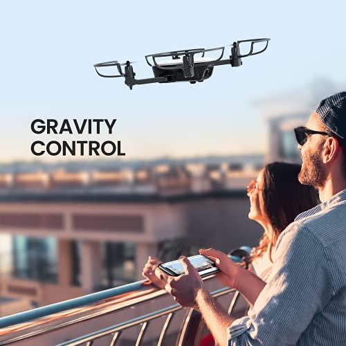 Potensic Elfin FPV 2K Camera Drone, 2 Batteries, Carrying Case