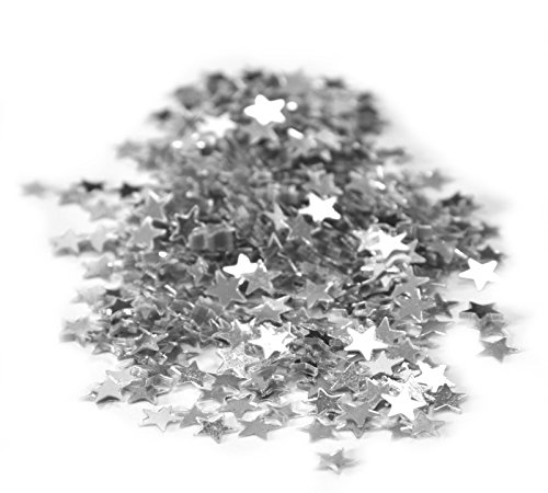LIANYUNGANG HENGTIAN INTERNATIONAL Confettis étoiles métal Argent 30 grs
