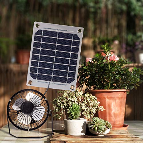 Seddex 5W 4 inch Solar Fan