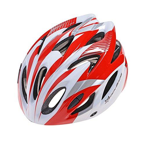 RockBros Bicicleta Casco, Casco de bicicleta bicicleta de montaña casco 57cm de...
