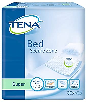 Tena Bed Super 60x60cm - Pack of 30 (Incontinence Bed Pads)