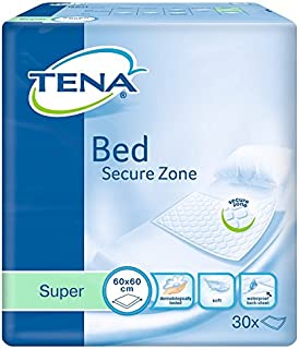 Tena Bed Super 60x60cm - Pack van 30 (Incontinentie Bed Pads)