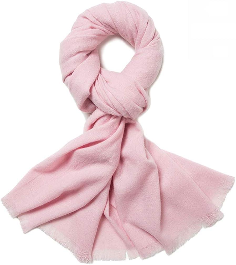 Helan Women's Soft Light Lambswool Long Scarf Oversized Shawl Long Shawl Wraps 200cm X 70cm