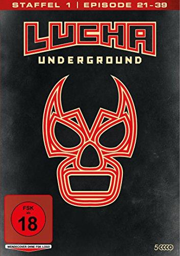 Lucha Underground 1.2 - Episode 21-39 (5 Discs)
