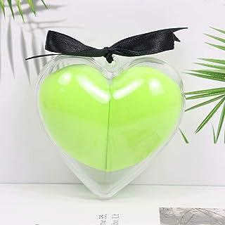 Make-upspons 2-delige set-schoonheidsspons Foundation-mengspons, vlekkeloos voor vloeistof en crèmes en krachten, groen