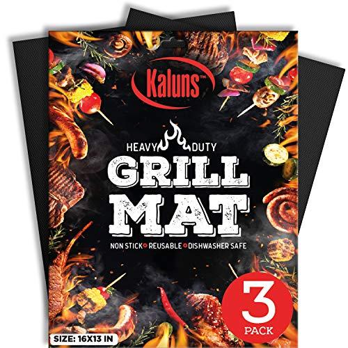 Kaluns Grill Mat, Best BBQ Mat - Heat...