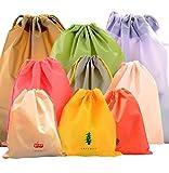 LZYMSZ Vakuumspeicher Taschen Rollen Oben Raum-Retter-Taschen, Kompressions Reise Aufbewahrungsbeutel, wasserdichte Kleidungs Beutel Zugschnur Taschen Schmutzige (9-Color)