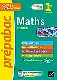 Maths 1re (spécialité) Nouveau programme de Première 2019-2020