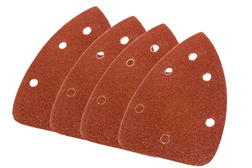 WEN 6301SP Palm Sander Sandpaper (12 Pack), Assorted Grits