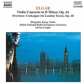 Elgar: Violin Concerto / Cockaigne Overture