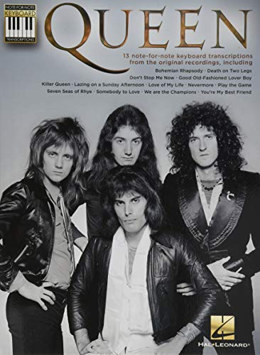 Queen: Note-For-Note Keyboard Transcriptions: Songbook für Keyboard