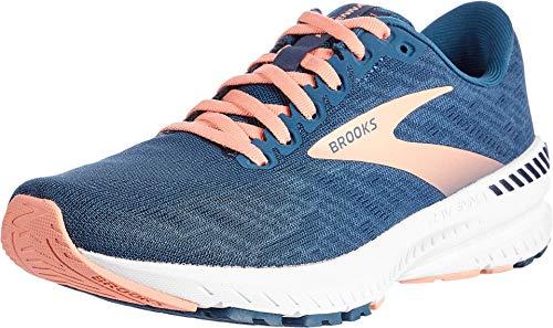 Brooks Womens Ravenna 11 Running Shoe - Majolica/Navy/Desert - B - 8