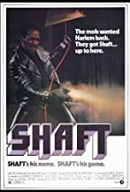 Shaft Movie Poster (27 x 40 Inches - 69cm x 102cm) (1971) -(Richard Roundtree)(Moses Gunn)(Charles Cioffi)(Christopher St. John)(Gwen Mitchell)(Lawrence Pressman)