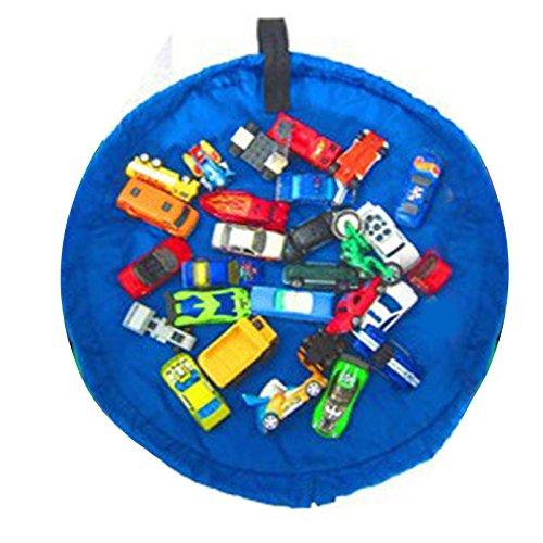 Zhuhaitf Sac de Rangement pour Les Jouets Portable Kids Toys Storage Bag Play Mat Folds Up Quickly and Easily