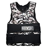 Victor Fitness 40 lb Camo Adjustable Weighted Vest...