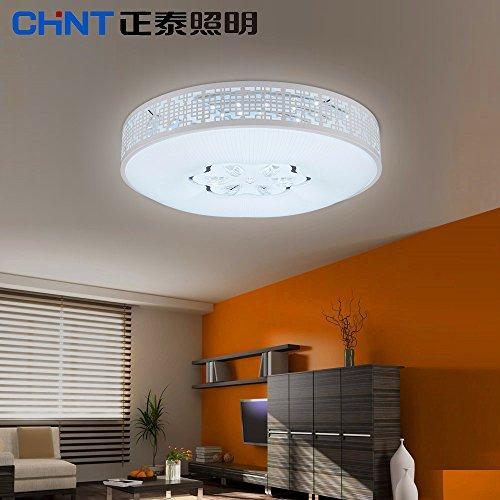 BRIGHTLLT Lampes de plafond à LED Lampes de salon Lampes à la chambre Circulaire Moderne Simple Plafond Lampes de plafond Éclairage, 500 * 120 mm