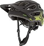 O'NEAL | Casco de Bicicleta de Montaña | MTB Downhill Freeride | Casco All-Mountain/Enduro, Ajuste Ajustable | Casco Thunderball Airy | Adulto | Negro Amarillo Neón | Talla M/57-XL/61