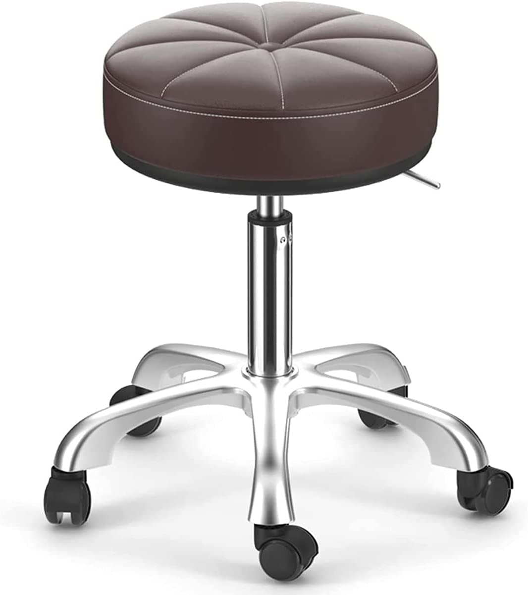 GGHHJ Stool with Roller Style Adjustable Minneapolis Mall Wheels Swivel S 2021new shipping free shipping Rolling