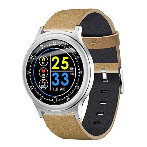 OOLIFENG Activity Tracker waterdicht IP67, bloeddruk- en hartslagmeter, intelligent horloge voor iOS en Android