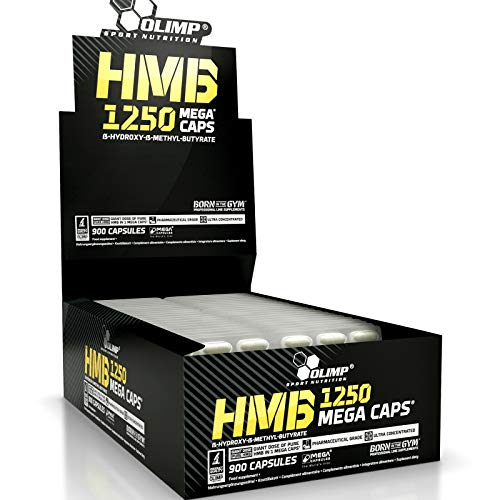 HMB Blisters | No Box | Anabolic | Anticatabolic | Fat Burner and Muscle Mass Builder (180 Capsules)