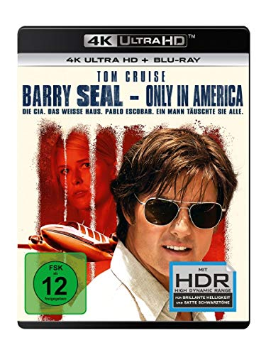Barry Seal - Only in America (4K Ulta HD) (+ Blu-ray 2D)