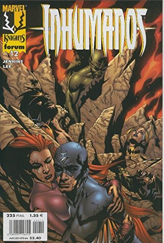 Marvel Knights: Inhumanos, coleccion