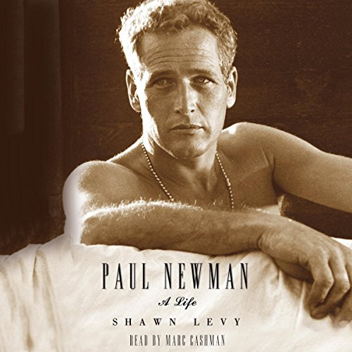 Paul Newman audiobook cover art