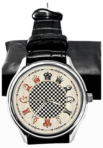Vintage Woodcut Wrist Watch