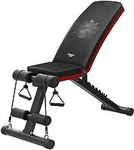 مقعد طاولة الوزن بالضغط على مقعد مسطح معدات اللياقة البدنية متعددة الوظائف مقعد الدمبل القابل للطي